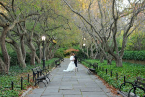 Conservatory Gardens  - Central Park Wedding NYC