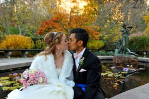 Burnett Fountain - Central Park Wedding