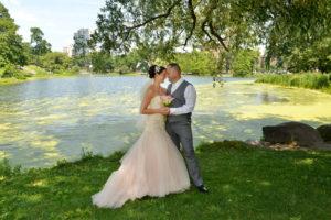 Harlem Meer  - Central Park Wedding NYC