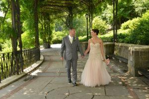 Conservatory Gardens - Wisteria Pergola - Central Park Wedding NYC