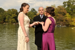 Ceremony at Bethesda Terrace