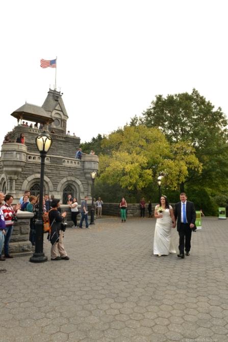 Bride walks down Aisle by: Steve Worth