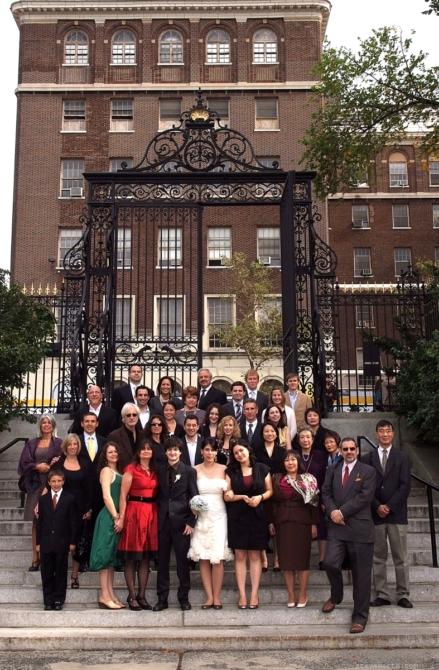 Group Photo inside Vanderbilt Gate by: Steve Worth